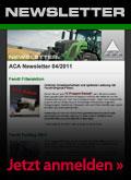 ACA Newsletter Anmeldung